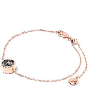 Rose Gold Vermeil Evil Eye Diamond Bracelet