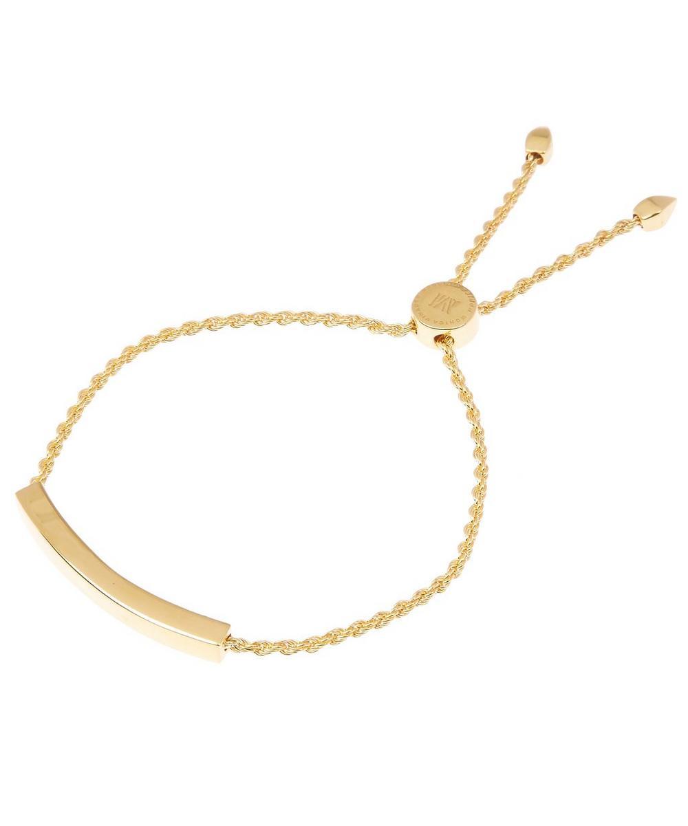 Gold Vermeil Linear Chain Bracelet