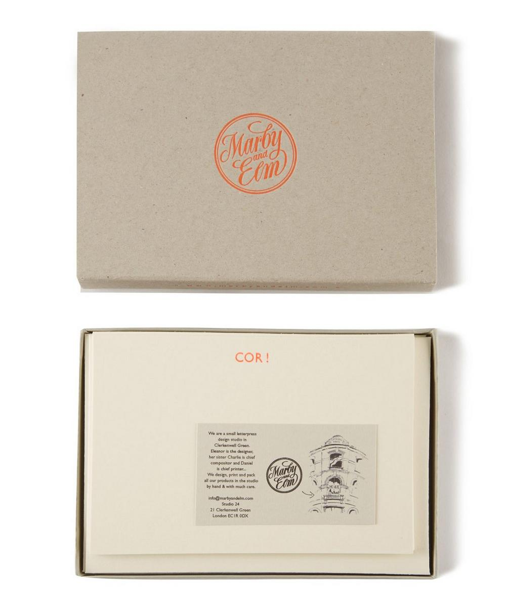 COR! Notecard Set