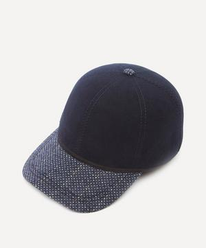 British Ball Wool Tweed Cap