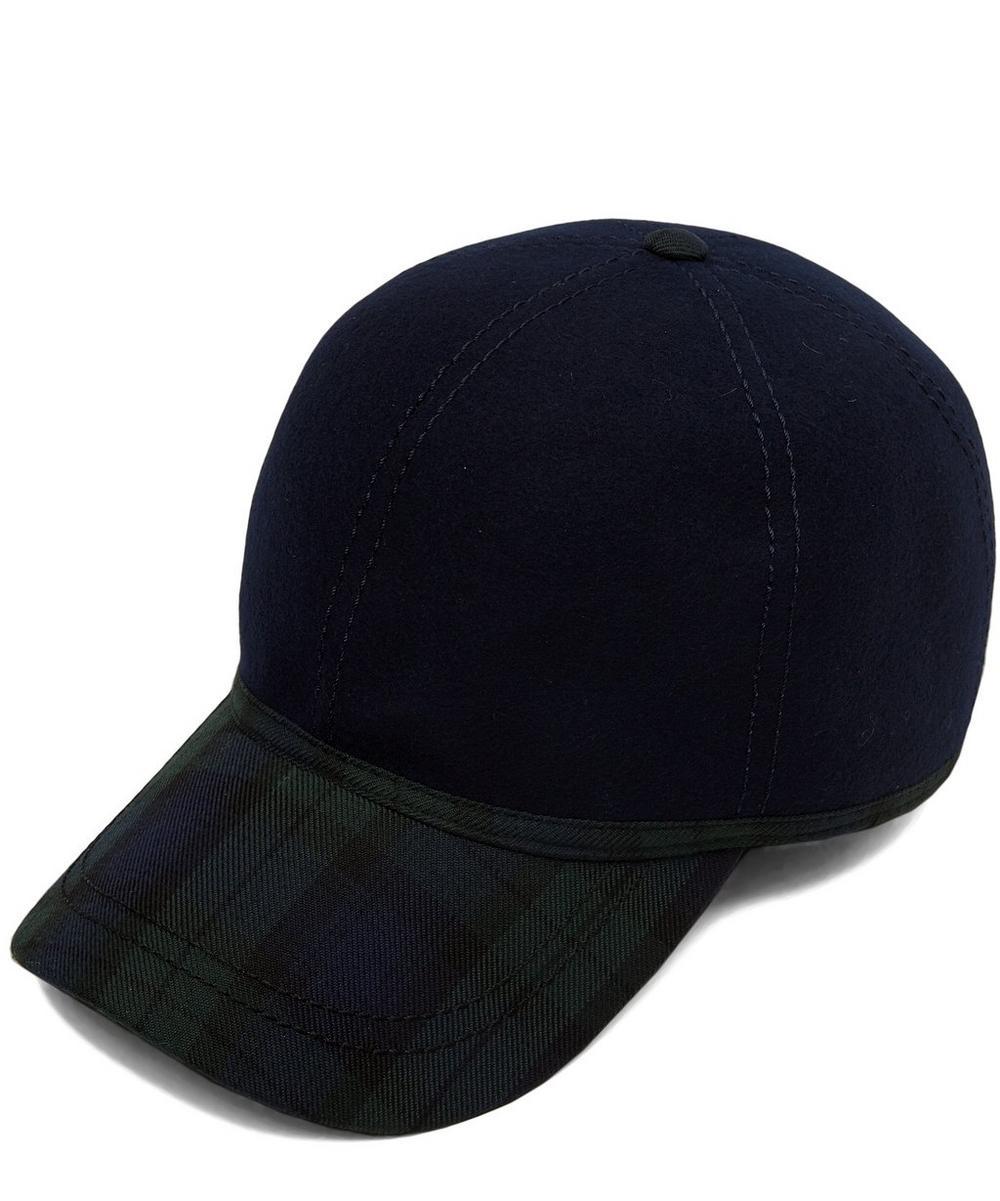 British Ball Wool Tweed Cap
