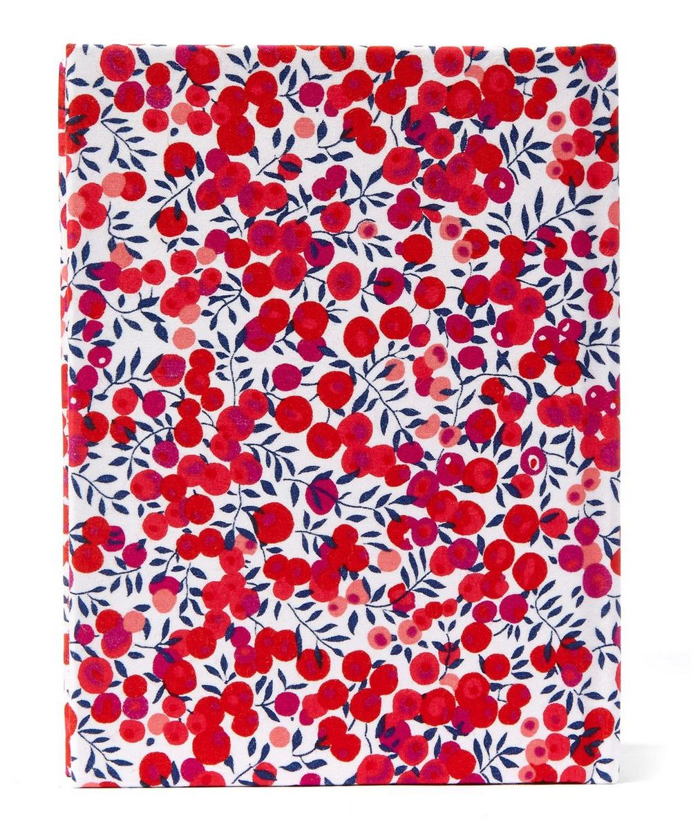 Small Wiltshire Liberty Print Fabric Notebook