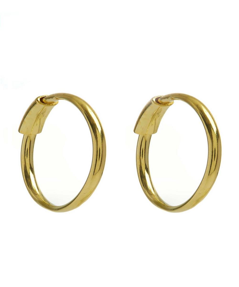 Small Basic Hoop Earrings