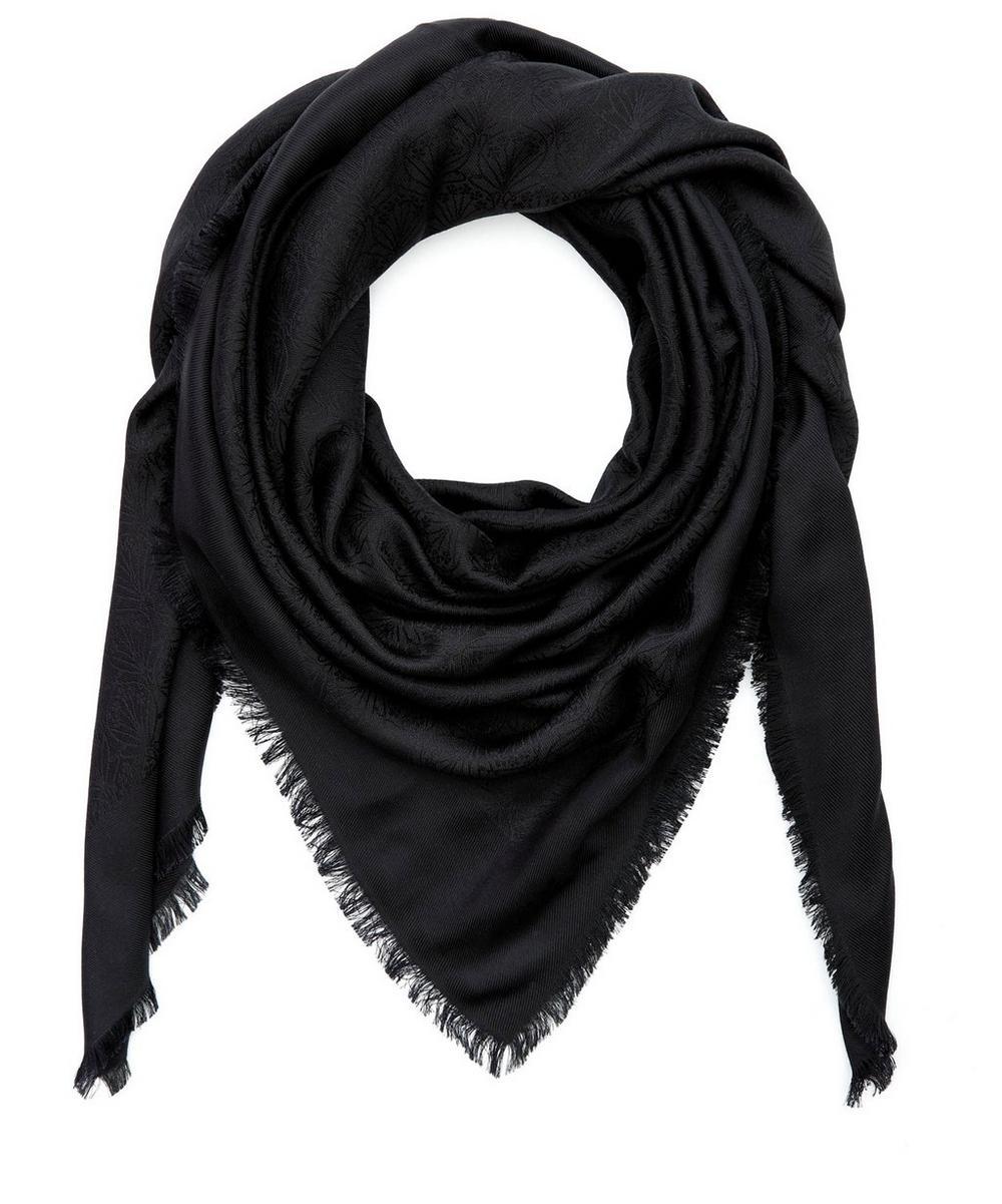 Iphis 150x150 Jacquard Silk Blend Scarf