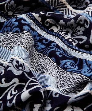 Isabella Wool and Silk-Blend Jacquard Scarf