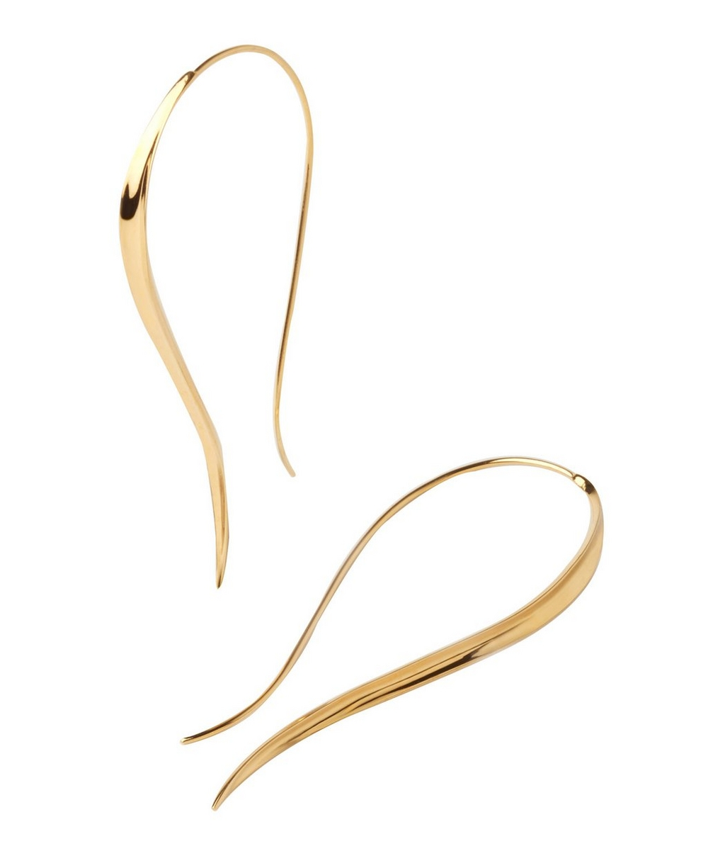 Gold Vermeil Signature Hook Earrings