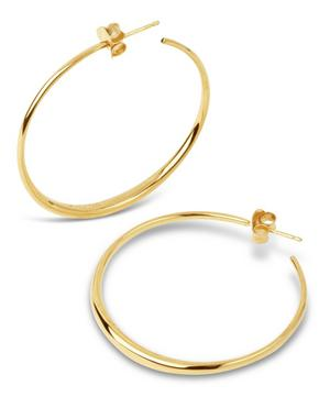Gold Vermeil Signature Medium Hoop Earrings