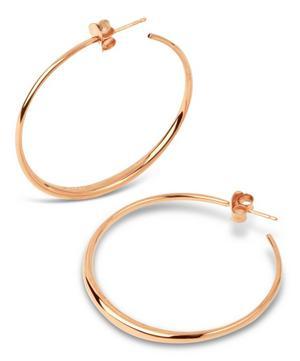 Gold Vermeil Signature Medium Hoop Earrings