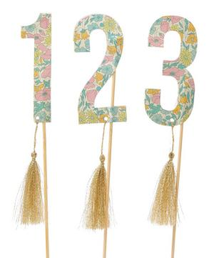 Poppy and Daisy Liberty Print Table Flags