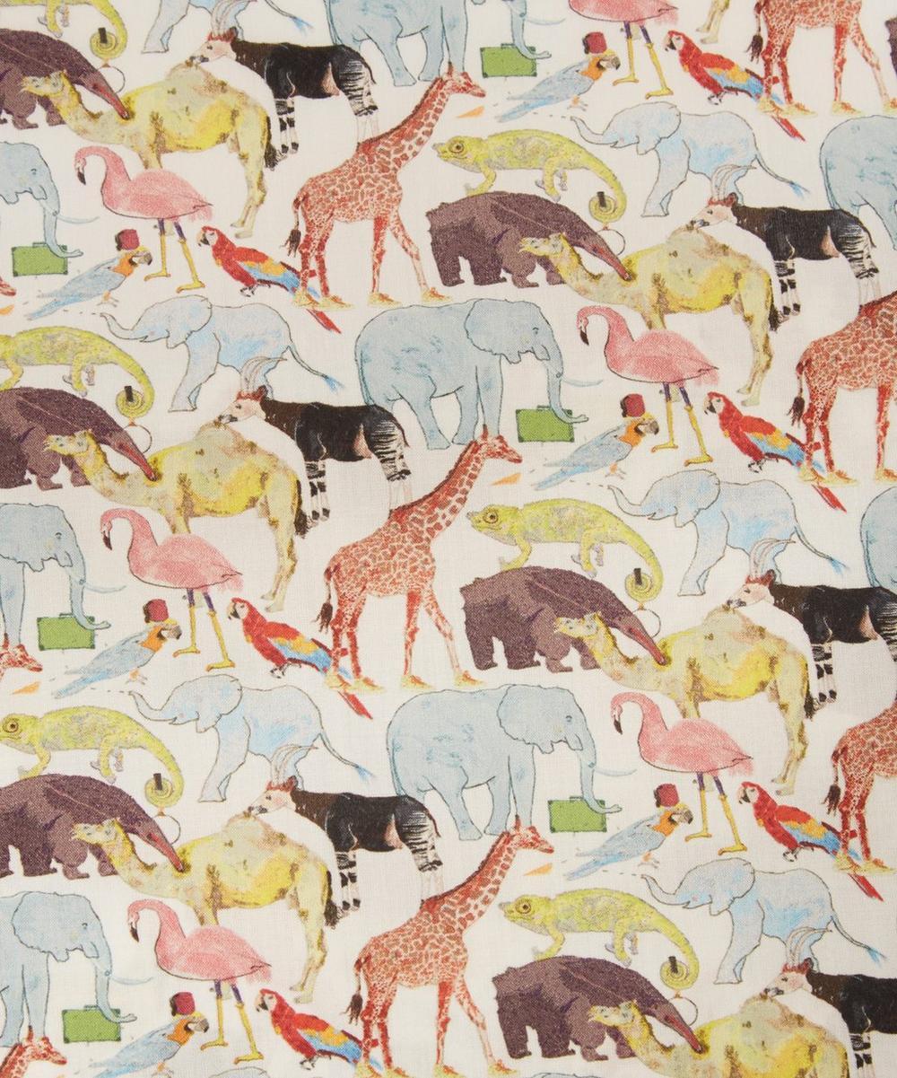 Liberty Fabrics - Queue for the Zoo Tana Lawn™ Cotton