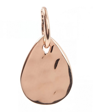 Mini Rose Gold-Plated Ziggy Petal Pendant