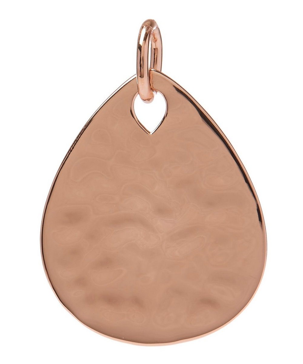 Rose Gold-Plated Ziggy Petal Pendant