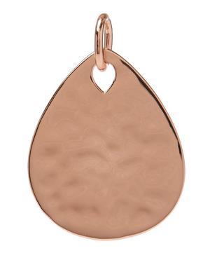 Rose Gold-Plated Ziggy Petal Pendant