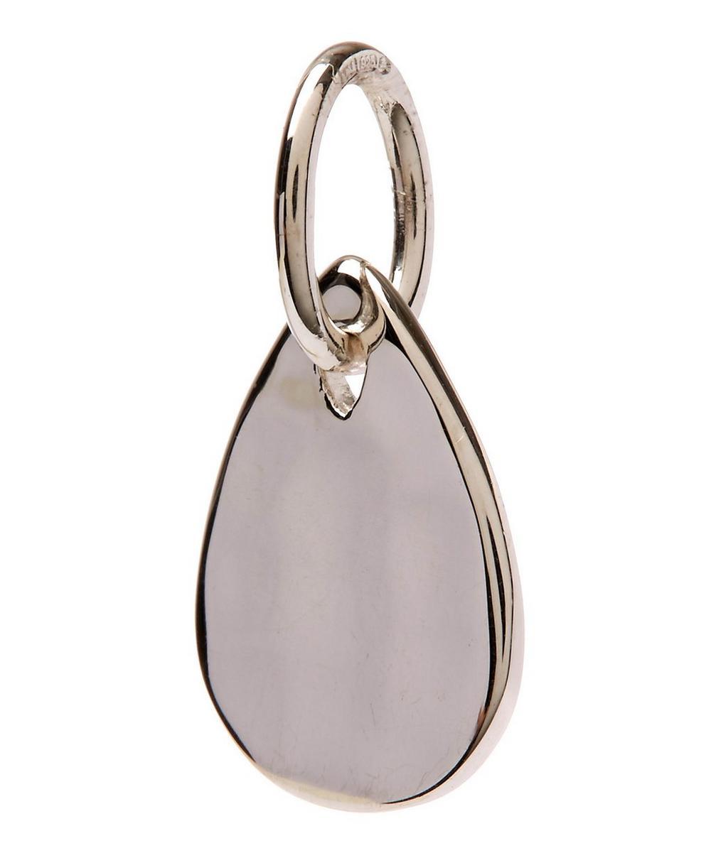 Mini Silver Petal Pendant