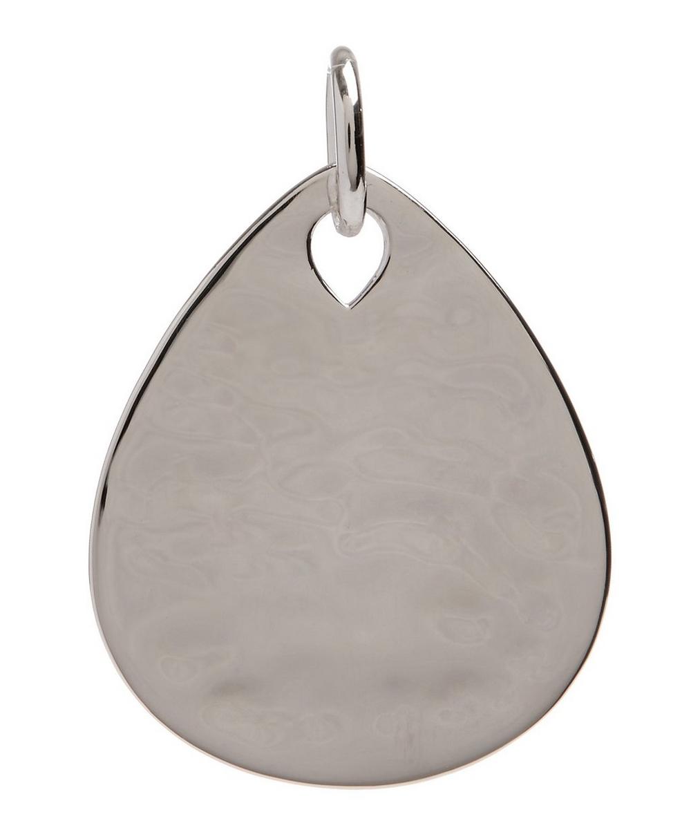 Silver Ziggy Petal Pendant