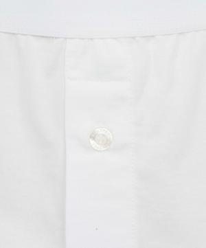 Striped Two-Button Superfine Cotton Boxer