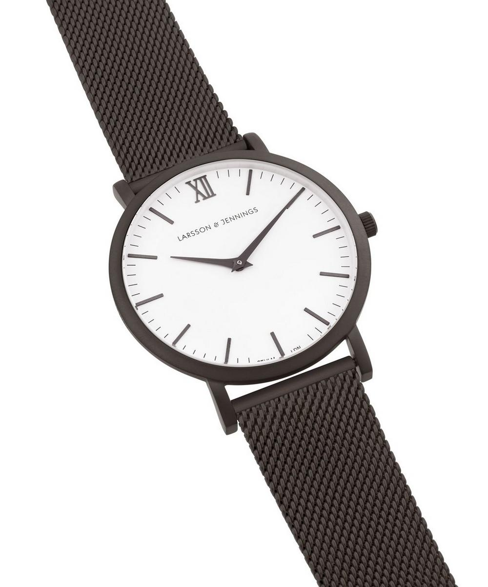 Chain Metal Anthracite Watch