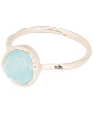 Rose Gold Vermeil Siren Amazonite Stacking Ring