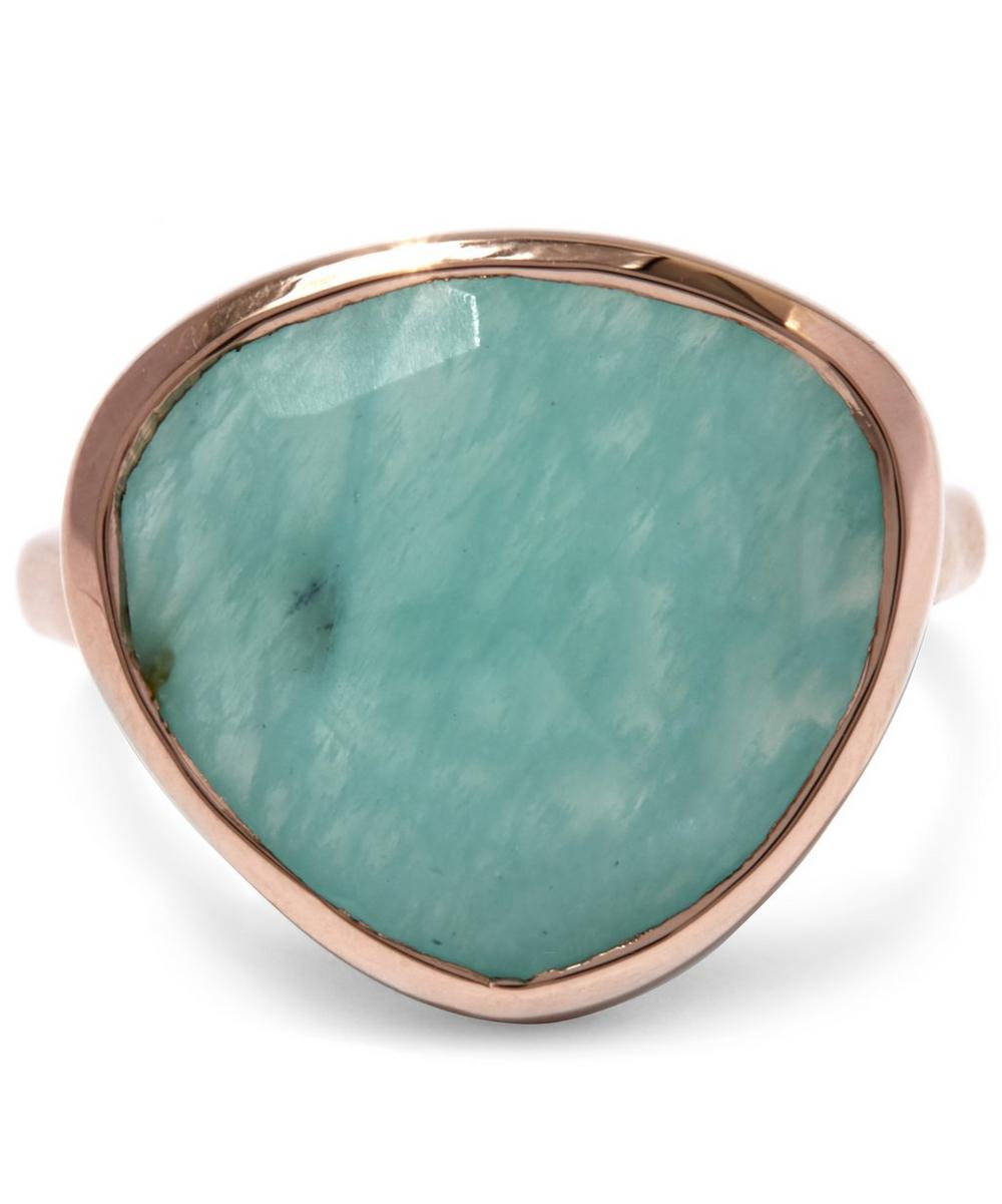 large gold london ring plated siren rose liberty amazonite uk rings