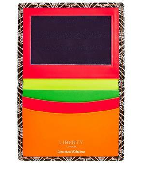 Neon Liberty London Travel Card Holder