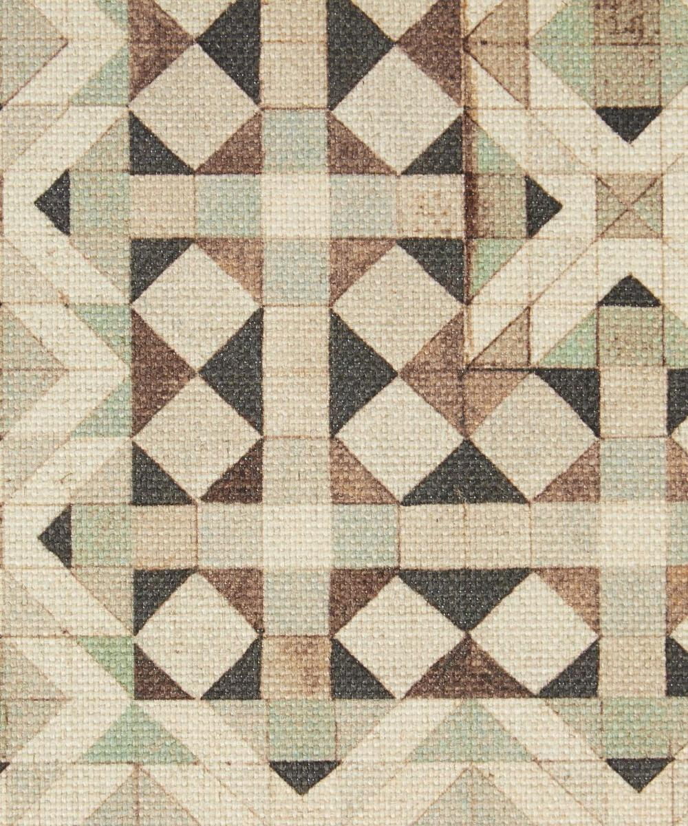 Parquet Simon Cotton Linen in Twilight