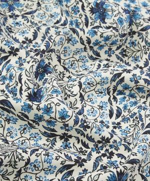 Petronella Chintz Cotton Linen in Delft