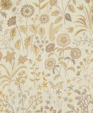 Shepherdly Flowers Natural Linen in Cornfield