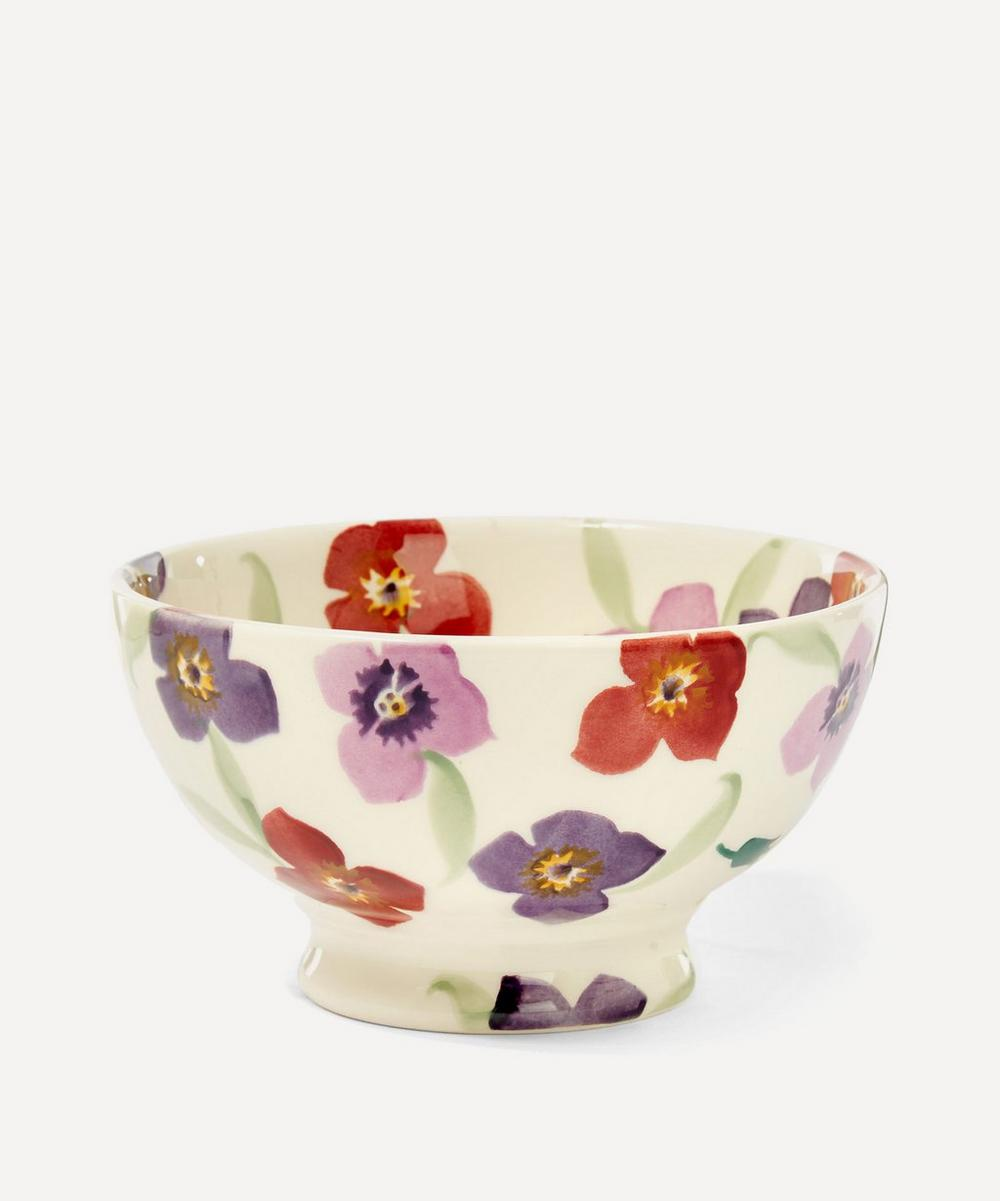 Wallflower Earthenware French Bowl