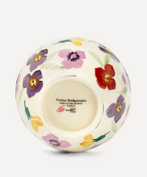 Wallflower Earthenware French Bowl