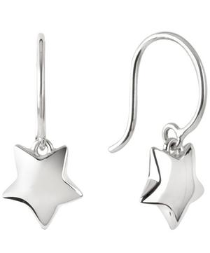 Silver Bijou Star Drop Earrings