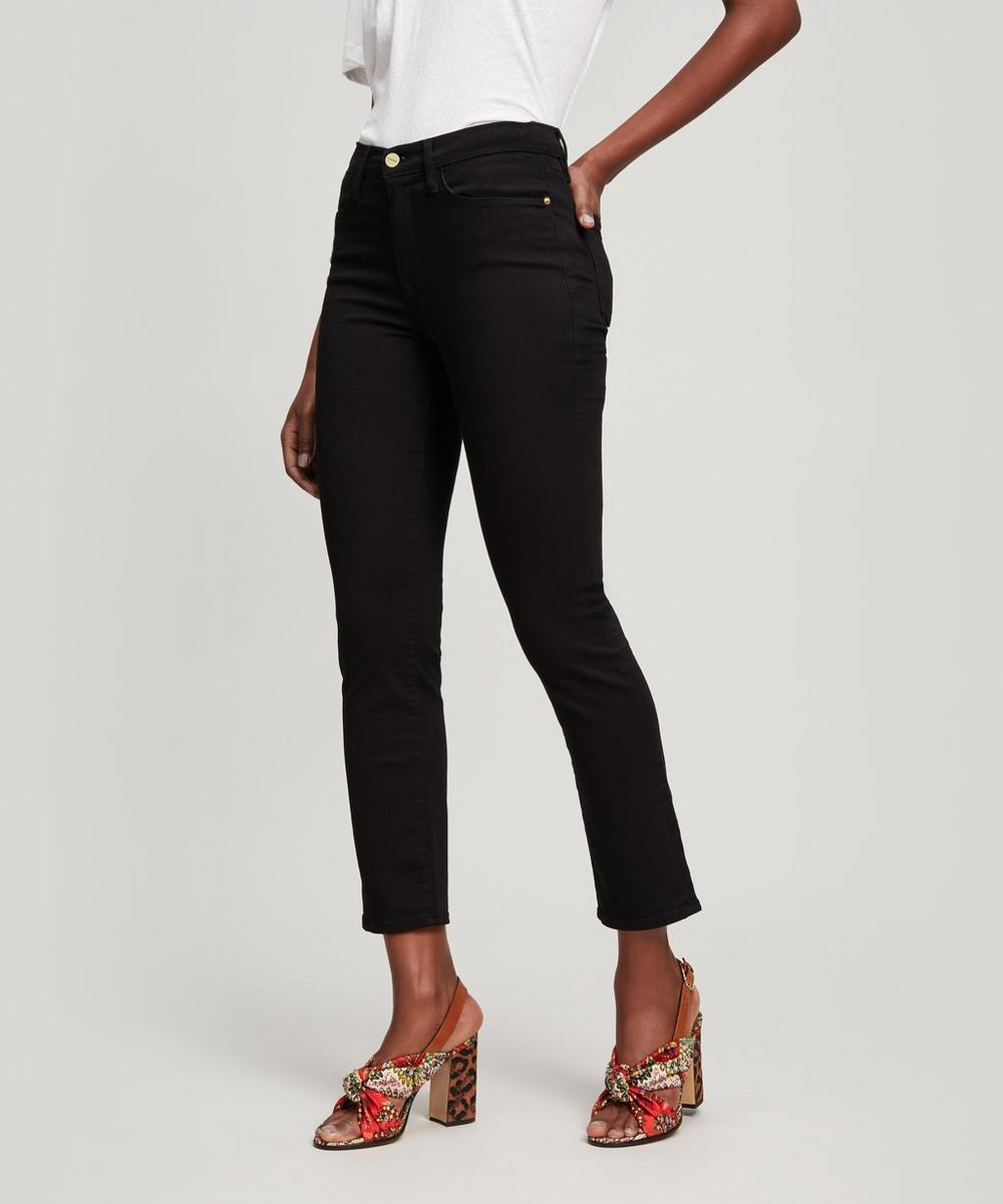 Le High Straight High Rise Jeans