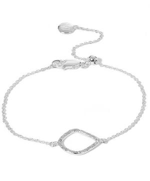 Silver Riva Diamond Kite Chain Bracelet
