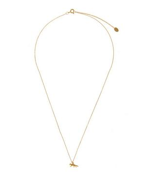18ct Gold Teeny Tiny Prowling Fox Necklace