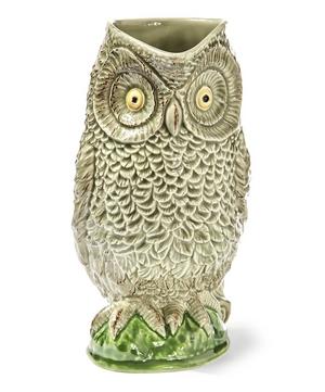 Owl Earthenware Pitcher