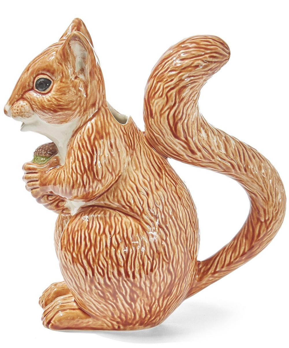 Squirrel Earthenware Pitcher