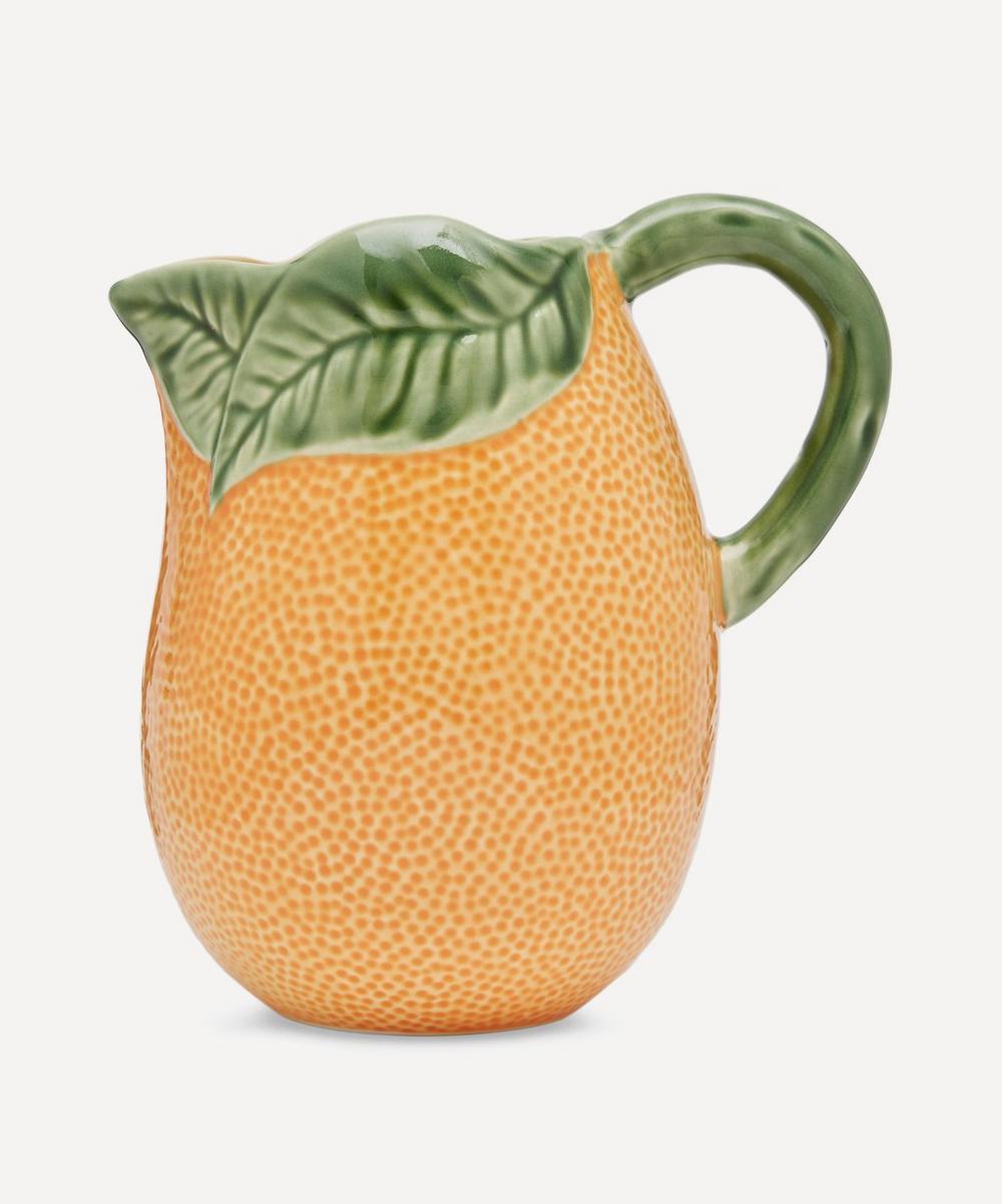 Lemon Earthenware Pitcher