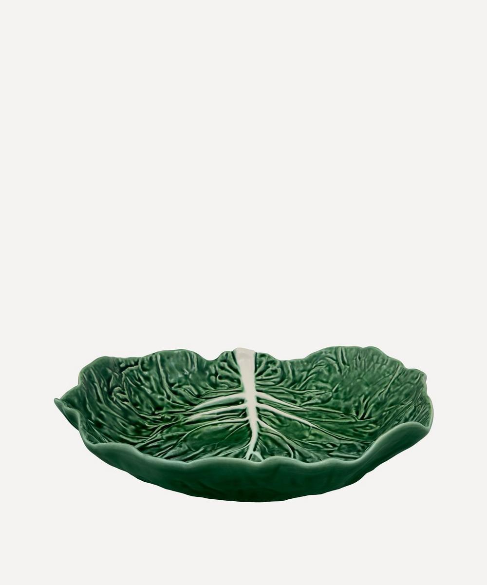 Bordallo Pinheiro - Cabbage Leaf Salad Bowl