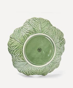 Cabbage Leaf Earthenware Bowl