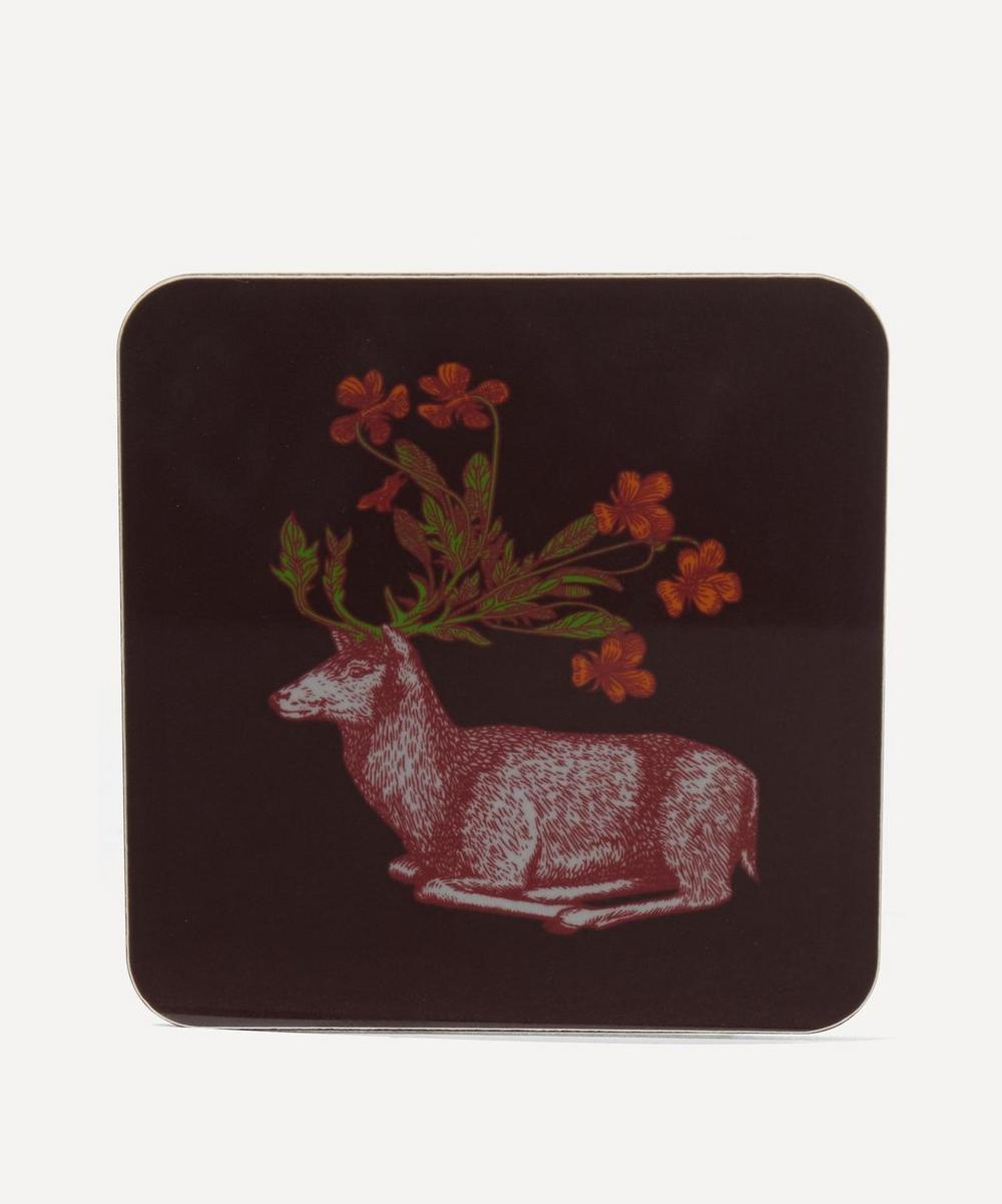 Avenida Home - Puddin' Head Deer Coaster