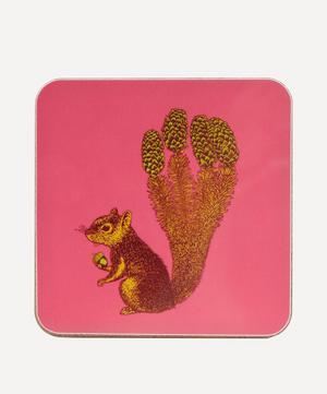 Puddin' Head Squirrel Coaster