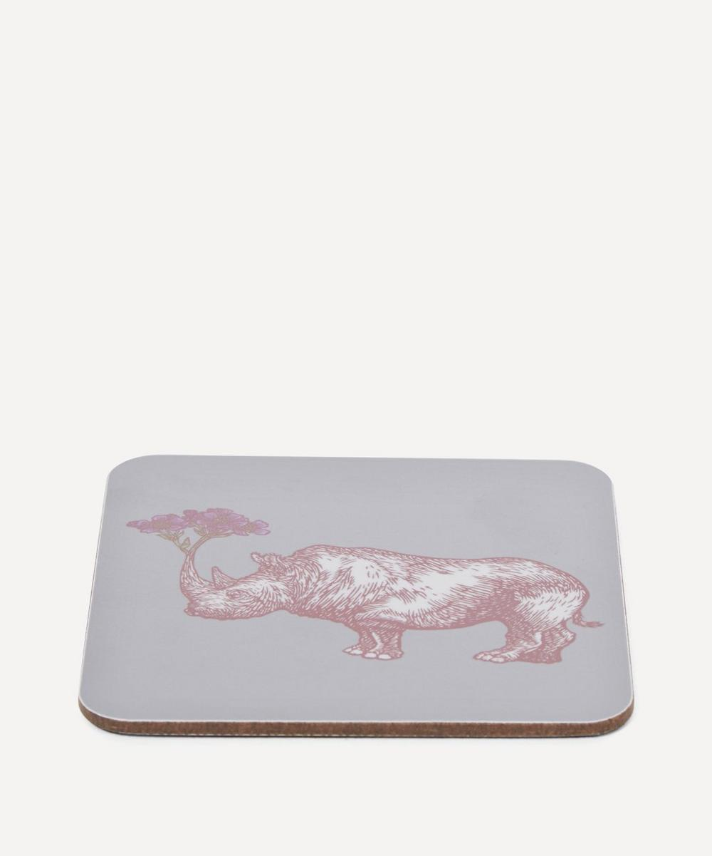 Puddin Head Rhino Coaster