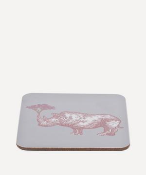 Puddin' Head Rhino Coaster