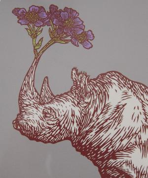 Puddin' Head Rhino Placemat