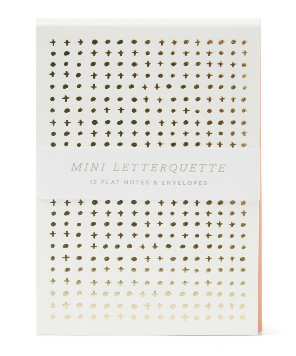 Mini Dotted Thanks Letterquette