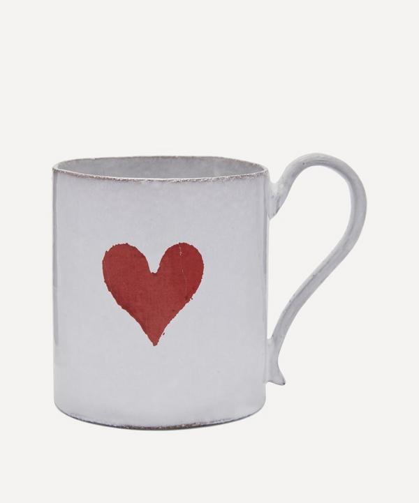 Astier de Villatte - Heart Mug
