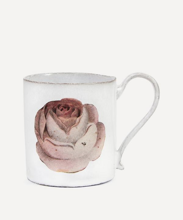 Astier de Villatte - Rose and Insect Mug
