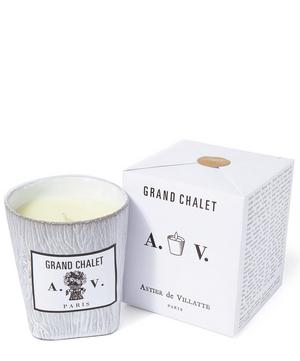 Grand Chalet Ceramic Candle