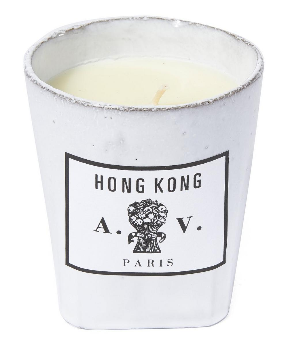 Hong Kong Ceramic Candle