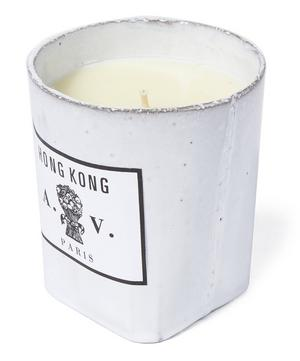 Hong Kong Ceramic Candle