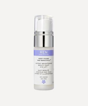 Keep Young and Beautiful Instant Brightening Beauty Shot Eye Lift 15ml